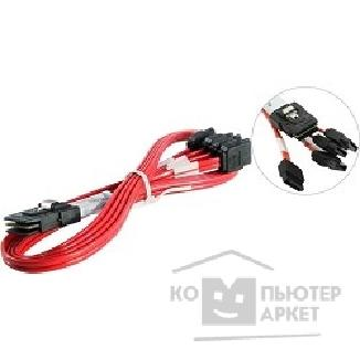 Контроллер Lsi Logic Кабель CBL-SFF8087OCF-05M Internal 0.5m SFF-8087 to SATA fanout, custom I2C for 3ware 9750 series