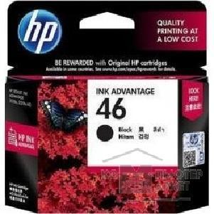 HP CZ637AE Картридж №46, Black {DJ2520/2020, Black}/HP CZ637AE CZ637AE