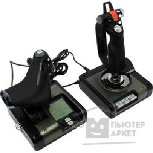 "Джойстик Saitek PC Джойстик  X52 Pro Flight Control System PS34 + подарок от ""War Thunder"" PS34 [PCA241]"