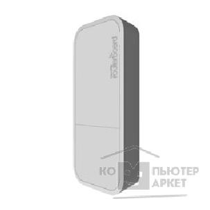 Сетевое оборудование Mikrotik RBwAPG-5HacT2HnD wAP ac built-in 5GHz 802.11an/ ac Tripple Chain wireless, RouterOS L4, white outdoor enclosure, PSU, PoE белый