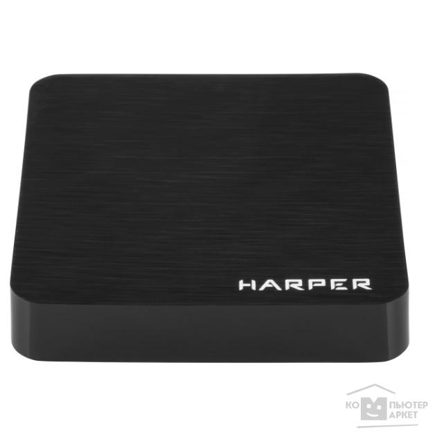 HARPER ABX-110 черный {Amlogic S905W Quad-Core Cortex-A53 2.0GHz; Оперативная память: 1GB DDR3; Постоянная память: 8GB eMMC}/Harper ABX-110 ABX-110