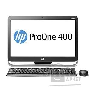 "Моноблок Hp ProOne 400 [G9D91EA#ACB] 21.5"" HD P G3220T/ 4Gb/ 500Gb/ DVDRW/ DOS/ WiFi/ BT/ k+m/ touch"