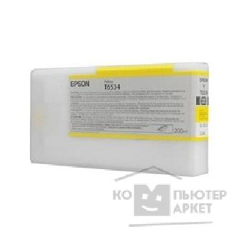��������� ��������� Epson C13T653400 Stylus Pro 4900 Ink Cartridge 200ml : Yellow
