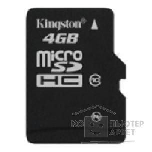 Карта памяти  Kingston Micro SecureDigital 4Gb  SDC10/ 4GBSP