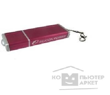 Носитель информации Silicon Power USB 2.0  USB Drive 512Mb, Ultima II-N [SP512MBUF2000V4R] Aluminim Red