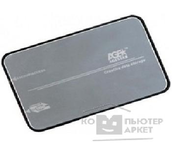 "Контейнер для HDD AgeStar 3UB2A8S-6G BLACK Внешний корпус  3UB2A8S-6G BLACK usb3.0 to 2.5""hdd SATAIII алюминий"