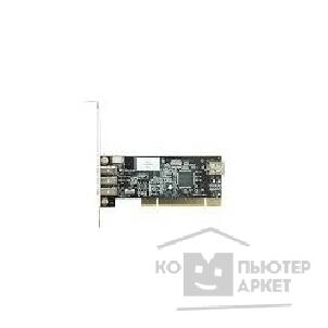 Контроллер IEEE1394 PCI card, 3+1 port OEM