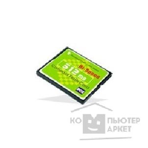 Карта памяти  Compact Flash PQI HS 512Mb