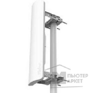 Сетевое оборудование Mikrotik RB921GS-5HPacD-19S Радиомаршрутизатор mANTBox 19s 5GHz 120 degree 19dBi 2X2 MIMO Dual Polarization Sector Antenna, 720MHz CPU, 128MB RAM, 1xGbit LAN, 1xSFP, PoE, mounting kit, RouterOS L4