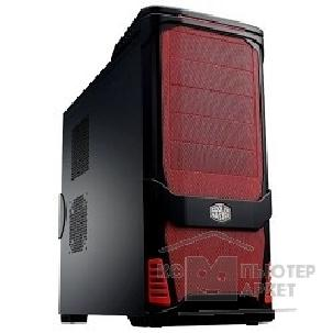 Корпус Cooler Master MidiTower USP 100 RC-P100-RKN1 , Red/ Black noPSU