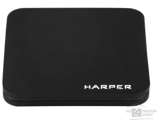 HARPER ABX-210 черный {Amlogic S905W Quad-Core Cortex-A53 2.0GHz; Оперативная память: 2GB DDR3; Постоянная память: 8GB eMMC}/Harper ABX-210 ABX-210