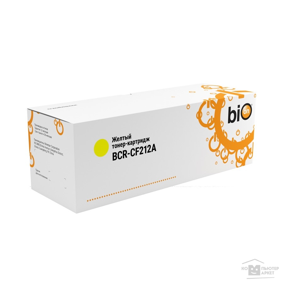 Расходные материалы Bion Cartridge Bion CF212A Картридж для HP LJ Pro M251/ M276, YELLOW, 1800 k.  [Бион]