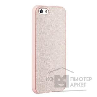 Чехол Ozaki O!coat 0.3 + Canvas case for iPhone 5/ 5S. Pink OC543PK