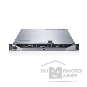 Dell Сервер  PowerEdge R430 1xE5-2620v3 1x16Gb 2RRD x4 1x600Gb 10K 2.5in3.5 SAS RW H730p iD8En+PC 1G 4P 1x550W 3Y NBD 210-ADLO-37