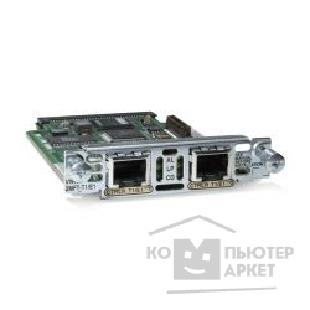 Модуль Cisco VWIC2-2MFT-T1/ E1= [2-Port 2nd Gen Multiflex Trunk Voice/ WAN Int. Card - T1/ E1]