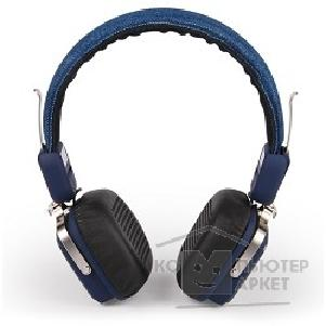 Наушники Crown CMBH-9301 blue jeans  Bluetooth: 3.0, hands free, 32 Ом, 20 Гц-20.000 Гц, Li-Pol 380 мА, 1.3м