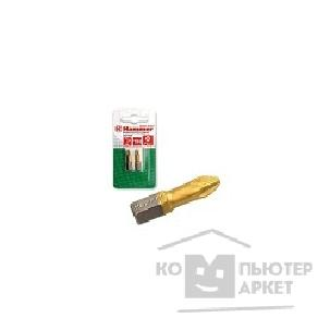 Hammer Бита  Flex 203-122 PB PZ-1 25mm 2pcs  TIN, 2шт. [30724]