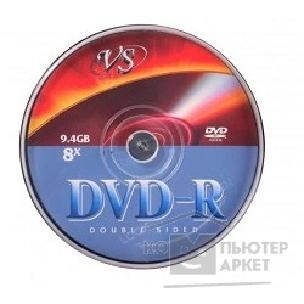 Lg DVD-R Диски VS 9.4Gb, 8x, Double Sided, Сake Box 10шт.