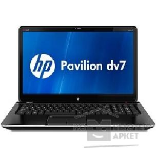 "Ноутбук Hp B3Q50EA  Pavilion dv7-7150er i3-2370M/ 4Gb/ 500G/ DVD-SMulti/ 17.3"" HD+/ NV GT630 1G/ WiFi/ BT/ 6c/ cam/ Win7 / midnight black"