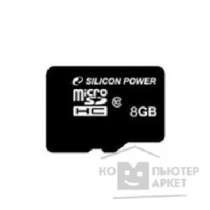 MicroSD Silicon Power SP008GBSTH010V10-SP 8 Гб