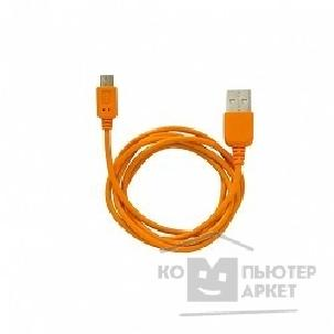 Cbr Кабель MicroUSB to USB Human Friends Super Link Rainbow M Orange, 1 м. [CB 270 Orange]