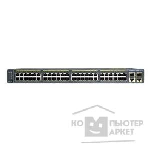 Сетевое оборудование Cisco WS-C2960+48TC-S Catalyst 2960 Plus 48 10/ 100 + 2 T/ SFP LAN Lite