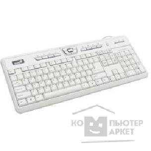 Клавиатура Genius Keyboard  Slim Star 310 White  PS/ 2+USB, Multimedia