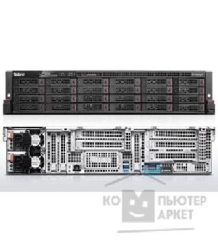 "Сервер Lenovo ThinkServer RD650 1x Xeon E5-2640 V3 2.6GHz 20MB 8C/ 16T 1866MHz 90W , 1x 8GB 1Rx4 1.2V 2133MHz RDIMM , O/ B SATA HS 3.5"" 6 , RAID110i+key 0/ 1/ 10/ 5, 1x 750W Plat HS PSU, NO OPTICAL, 3 Year war"
