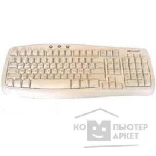 Клавиатура Microsoft Basic Keyboard, белая, PS/ 2 Q95-00010/ Q96-00009 OEM