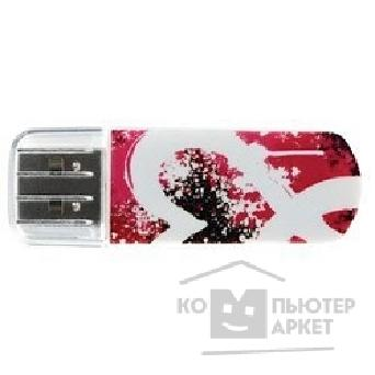 носитель информации Verbatim USB Drive 8Gb Mini Graffiti Edition Red 098165