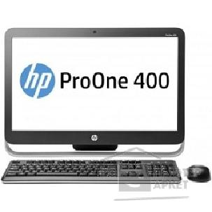 Моноблок Hp ProOne 400 G1, Intel Celeron G1840T, 4Гб, 500Гб, Intel HD Graphics, DVD-RW, Windows 7 Professional, черный и серебристый [J8S78EA]