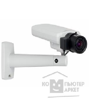 Цифровая камера Axis P1354 Light-sensitive, HDTV resolution, day/ night, fixed camera with varifocal 2.8-8 mm DC-iris lens and remote back focus. Lightfinder technology