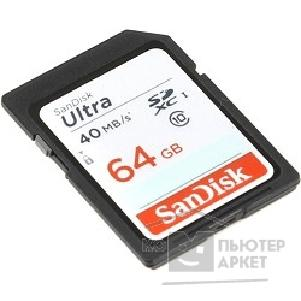 Карта памяти  SanDisk SecureDigital 32Gb  SDSDUN-064G-G46