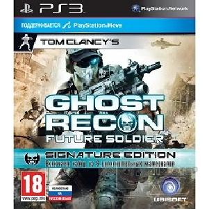 Sony Диск для приставки PS3 : Tom Clancy's Ghost Recon Future Soldier. Signature Edition русская версия
