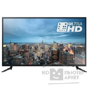 "Телевизор Samsung 55"" UE55JU6000UXRU черный/ Ultra HD/ 200Hz/ DVB-T2/ DVB-C/ DVB-S2/ USB/ WiFi/ Smart TV RUS"