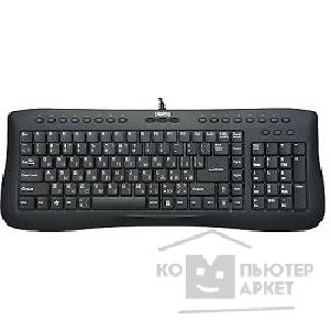 Dialog Клавиатура KP-105BU  Prestige Multimedia Black - USB