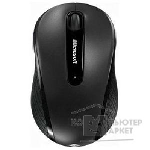 Microsoft Мышь  4000 Wireless Mobile Mouse USB Black  D5D-00133 , RTL
