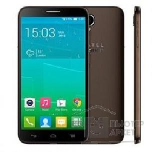 Мобильный телефон Alcatel  POP S9 7050Y Black/ Dark Chocolate