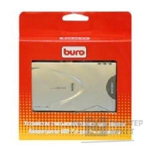 Устройство считывания Buro USB 2.0 Card Reader  All in 1 + Hub [BU-CRallin1/ Hub] Silver
