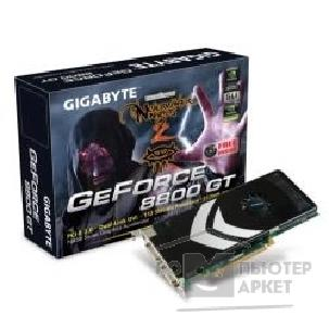 Видеокарта Gigabyte GV-NX88T512H -B , RTL GF8800GT, 512MB DDR, TV-OUT, 2xDVI PCI-E