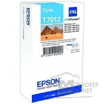 ��������� ��������� Epson C13T70124010 WP 4000/ 4500 Series Ink XXL Cartridge Cyan 3.4k