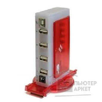 Контроллер Defender USB UH684 iStack 4 порта USB 2.0, с адаптером