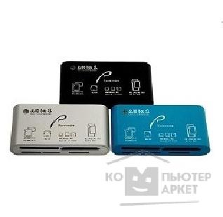 Устройство считывания Rover Computers USB 2.0 Card Reader All in 1 ext. Rovermate Mirus Adaptmate-075 , синий