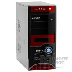 Crown Корпус Miditower  CMC-42 black/ red ATX CM-PS450W Superior