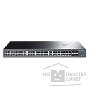 Сетевое оборудование Tp-link TL-SG2452 48-port Pure-Gigabit Smart Switch, 48 10/ 100/ 1000Mbps RJ45 ports including 4gigabit SFP slots, Tag-based VLAN, STP/ RSTP/ MSTP, IGMP V1/ V2/ V3 Snooping, 802.1P Qos, Rate Limiting, Port