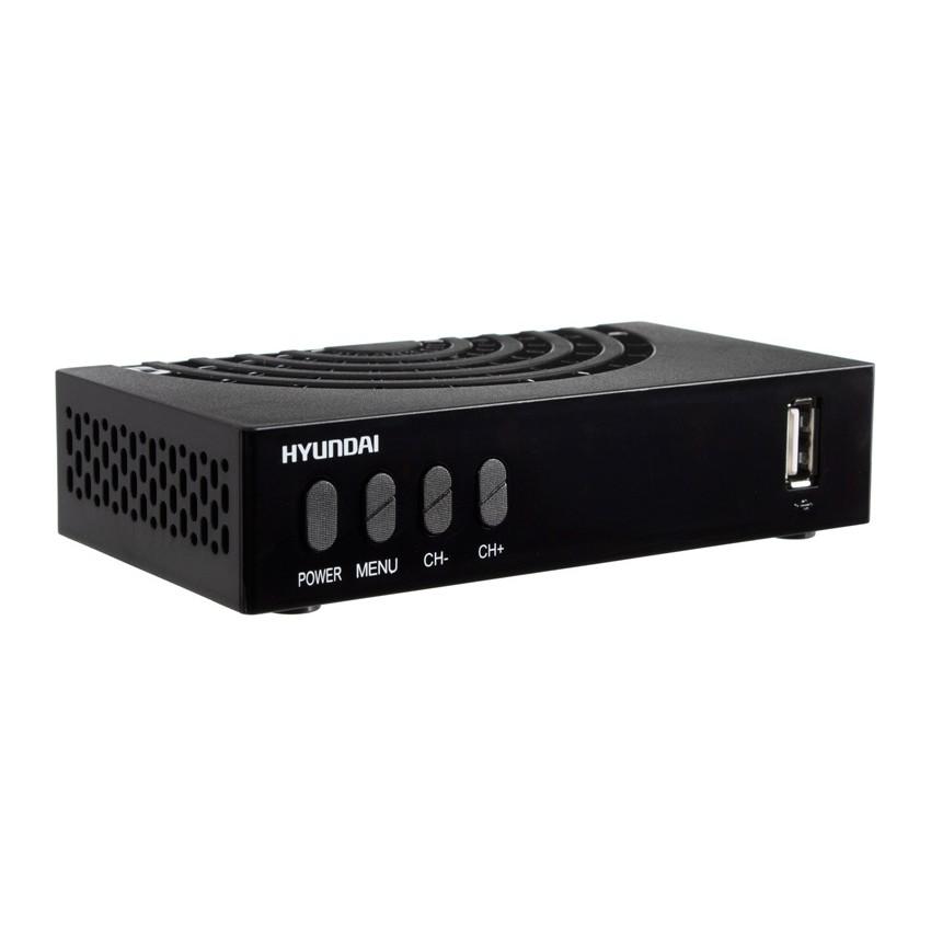 Ресивер DVB-T2 Hyundai H-DVB440 черный/Hyundai H-DVB440 H-DVB440