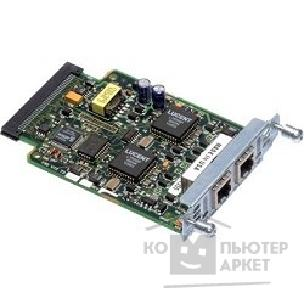 Модуль Cisco VIC2-2FXO= [Two-port Voice Interface Card - FXO Universal ]