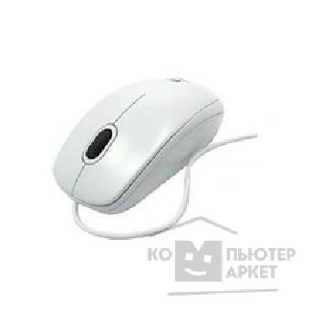 Мышь Logitech 910-001804  Mouse B110 Optical, White, USB OEM