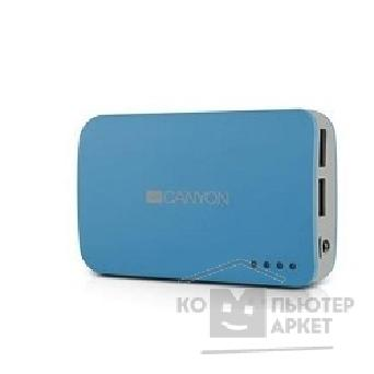 Аксессуар Canyon CNE-CPB78BL Blue color portable battery charger with 7800mAh, micro USB input 5V/ 1A and USB output 5V/ 1A max.
