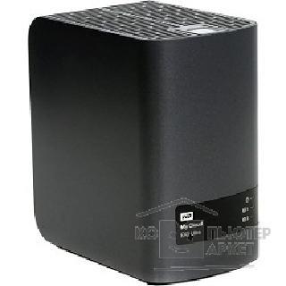 """Western digital Дисковый массив WDBSHB0000NCH-EEUE My Cloud EX2 Ultra 0Tb Сетевое хранилище 2xHDD 3,5"""", 1Gb DDR3, 1xGb LAN, USB 3.0 WDBSHB0000NCH-EEUE"""